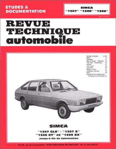 Simca 1307 S-GLS-1308 GT-1309 SX (76/79)