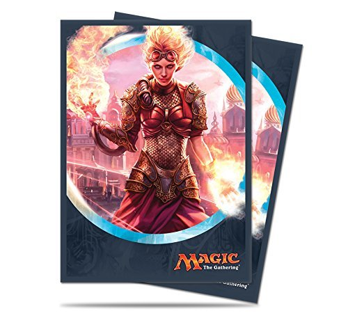 Magic the Gathering: Kaladesh Standard Deck Protectors - Chandra, Torch of Defiance (80) by Ultra Pro - Torch-deck