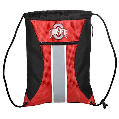 NCAA Ohio State buckeyesbig Streifen Reißverschluss Kordelzug Rucksack, Ohio State Buckeyes, One - Ohio State-geschenk-tasche