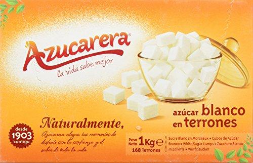 Azucarera - Azúcar blanco en terrones - 1 kg - [Pack de 6]