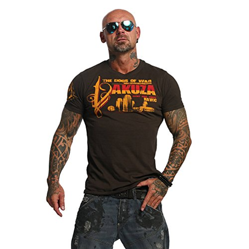 Yakuza Original Herren Havoc T-Shirt Coffee Bean