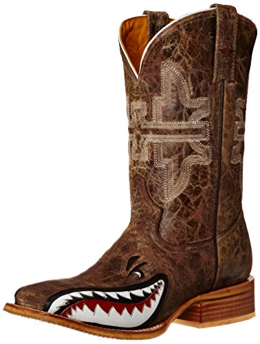 tin-haul-shoes-mens-gnarly-shark-western-boot-brown-crackle-8-d-us