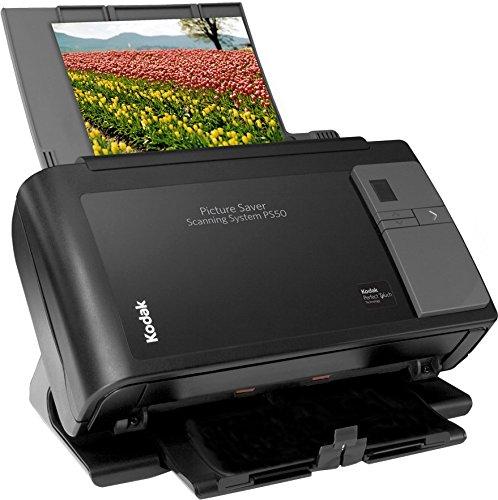 FOTOSCANNER MIETEN 1 WOCHE, Kodak PS50 Picture Saver Scanning System, Profi Scanner zur Digitalisierung von Fotos und Dokumenten, Auflösung 600 dpi