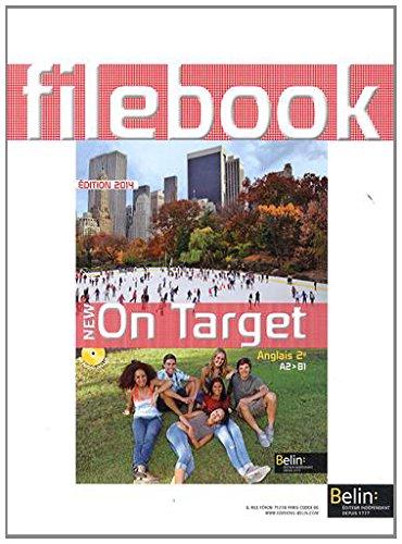 Anglais 2e New on Target : filebook