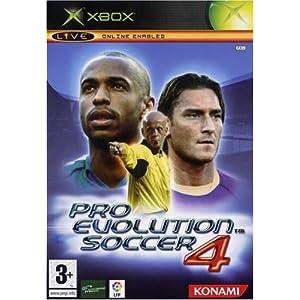 Pro Evolution Soccer 4 XBOX (fr)
