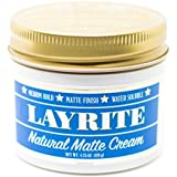 Layrite Natural Matte Cream Pomade 4.25 oz