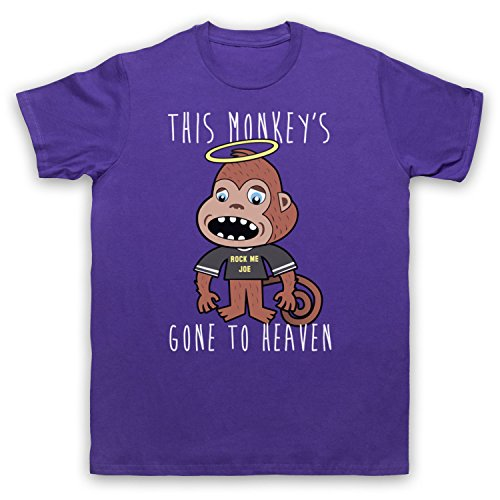 Inspiriert durch Pixies Monkey Gone To Heaven Unofficial Herren T-Shirt Violett