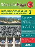 Réussite brevet, Histoire-Géographie-Enseignement moral et civique 3e
