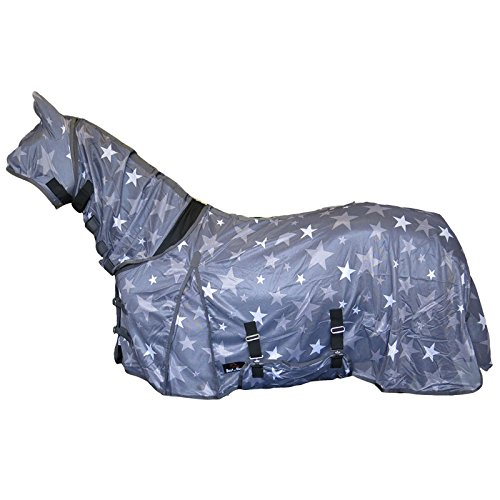 Best On Horse Star Print Combo Fly Rug Full Neck