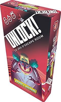 Asmodee - SCUNLOCK01FR/M2 - Unlock - Squeek et Sausage
