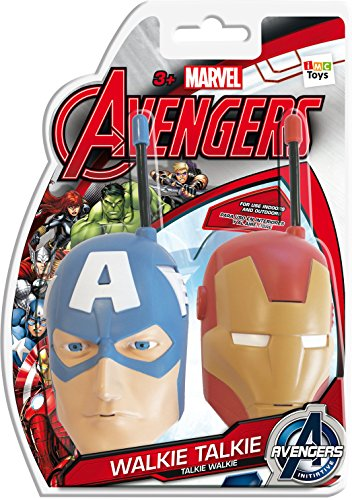 The Avengers 390089 - Walkie-Talkie (IMC Toys 390089) - Walkie Talkie, Juguete Interactivo A partir de 6 Años