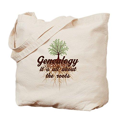 CafePress–GENEALOGIE Familie Roots–Leinwand Natur Tasche, Reinigungstuch Einkaufstasche Tote S khaki