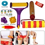 #3: Magnetic Pointed Handy Acupressure Body Roller with Free Acupressure Kit