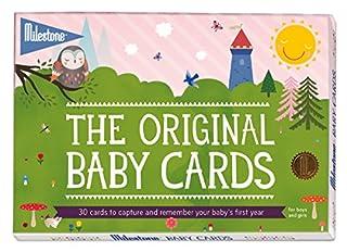 Milestone Baby Cards - Cartas para fotografías (inglés) (B00EYDECNU) | Amazon price tracker / tracking, Amazon price history charts, Amazon price watches, Amazon price drop alerts