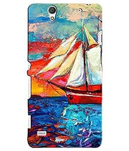 Citydreamz Ship Hard Polycarbonate Designer Back Case Cover For Sony Xperia C4/C4 Dual Sim/E5303 E5306 E5353