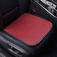 GC Four Seasons Coche Asiento Cojín Transpirable Cubierta Interior Pad Mat para Auto Suministros Oficina Silla,Red