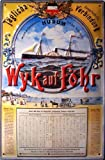 Dampfschiff Husum - Wyk auf Föhr Blechschild Schild Blech Metall Metal Tin Sign 20 x 30 cm