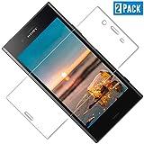 TOIYIOC Verre Trempé Sony Xperia XZ1 [Pack de 2], Film Protection Écran en Verre Trempé, Dureté 9H et HD Transparent, sans Bulles, Crystal Clear Écran Protecteur Vitre Glass pour Sony Xperia XZ1