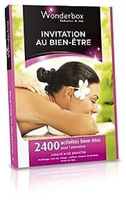 WONDERBOX - Coffret cadeau - INVITATION AU BIEN-ÊTRE