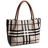 FLHT Frauen Handtasche Leder Große Brötchen Mutter Tasche Große Kapazität Aktentasche Messenger Bag Schultertasche Reisetasche Täglichen Aufbewahrungstasche Eimer Tasche