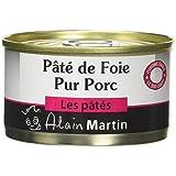 ALAIN MARTIN Pâté de Foie Pur Porc - Lot de 10