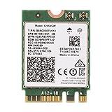 Richer-R PCI-E Wifi Karte, 2 in 1 Mini Wifi Wireless 2.4G/5G Dual-Band PCI-E WLAN Karte,NGFF/M2 Wireless 802.11 A/C Wifi Karte Adapter für PC/Laptop mit Windows 7/8.1/10
