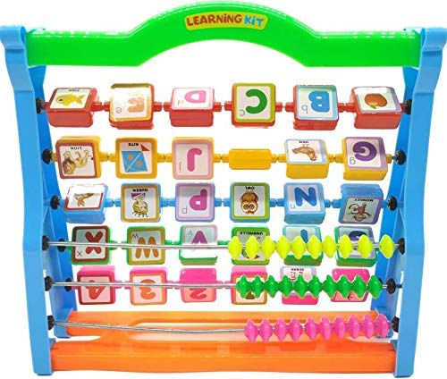 DD RETAILS Alphabets Picture and Numbers Learning with Fun Kit for Kids(Min.Age 3yrs) (Multicolor)