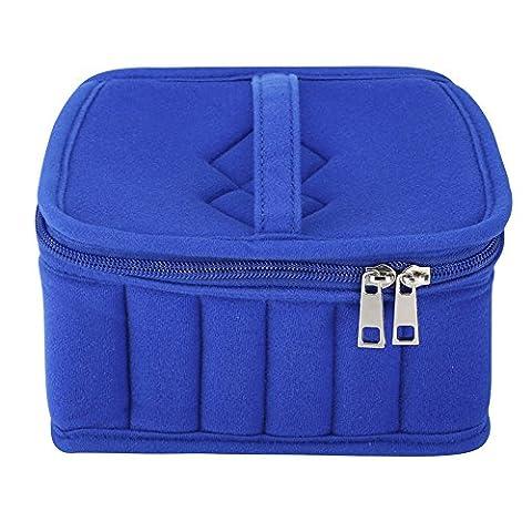 Blaward Aromathérapie Diffuseur de Stockage Huile Essentielle Carry Case Bag Box Organizer Trousse de Maquillage