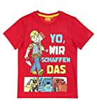 Bob der Baumeister T-Shirt rot (104)