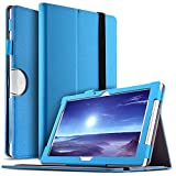 IVSO Acer Iconia Tab 10 (A3-A50) Hülle, Leder Tasche Schutzhülle mit Standfunktion für Acer Iconia Tab 10 A3-A50 2017 Tablet PC(10,1 Zoll), Blau