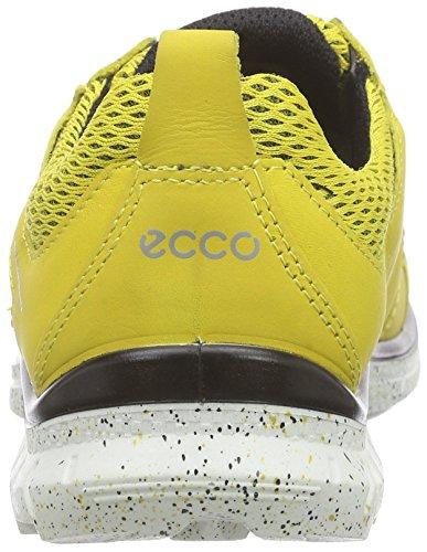 ECCO Biom Trail Kids, Scarpe da Ginnastica Unisex – Bambini Giallo(Bamboo/Bamboo-Black 59404)