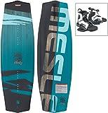 MESLE Wakeboard Liberty 128 cm Moto Package, Kinder/Jugend Board mit Boots