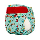 TotsBots PeeNut Waterproof Wrap Size 2 in a Choo Choo Design for use with the Bamboozle Nappies