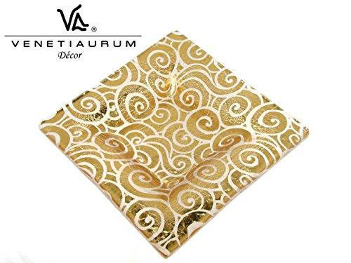 Venetiaurum - base per candela - gioielli d'arredo in vetro artistico di murano made in italy