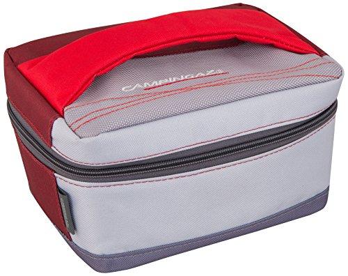 Campingaz 2000024776 Nevera Flexible + Acumulador de Frio, Unisex, Gris, Rojo