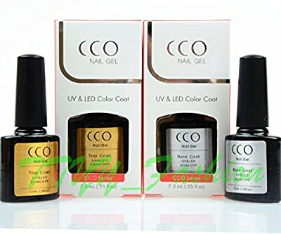 CCO UV LED Gel Package Deal Top Or/And Base Coats for Any Brand UV LED GEl POLISH Colour