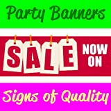 Sale Now On V2 PVC Banner With Eyelets Available in 3 Sizes (this size is 8FT x 2FT)