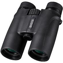 BNISE 10x42 Prismáticos, Portátil con cubierta de aleación de magnesio, Prisma óptico BAK4 Telescopio, Luminoso y puede Capturar imágenes Originales, Detalles Claros