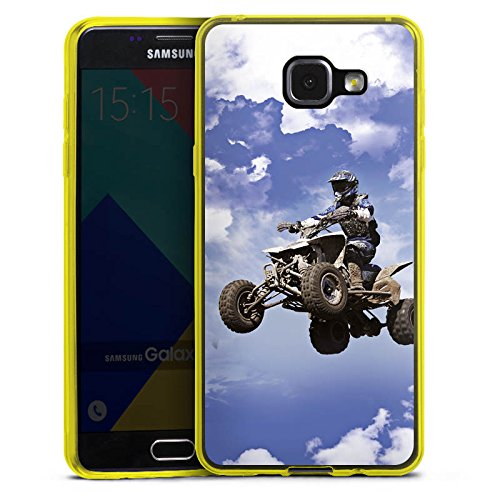 DeinDesign Slim Case kompatibel mit Samsung Galaxy A5 Duos 2016 Silikon Hülle Ultra Dünn Schutzhülle Quad Motocross Sport Slim Quad