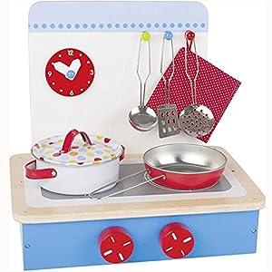 Goki 51852 Juego de rol - Juegos de rol (Cocina y Comida, Estuche de Juego, 3 año(s), Niño, Niño/niña