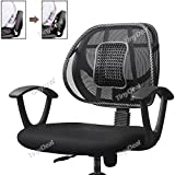 Tiny Deal Car Seat Chair Massage Back Lumbar Support Mesh Ventilate Cushion Pad RTH-320544