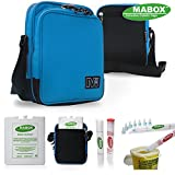 NEW DIABETIC CASE - MABOX COMPACT COOL BAG HELPS YOU WHEREVER YOU GO! Special Pen & Pump users
