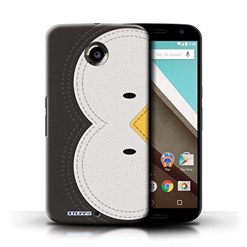 Kobalt® Imprimé Etui / Coque pour Motorola Nexus 6 / Manchot conception / Série Cousu des Animaux Effet Manchot