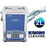 2L Limpiador Ultrasónico Profesional Calentador para limpiar piezas metálicos Joyas/Gafas/Monedas/Relojes y muchos más. [ Limpieza ultrasónica ]