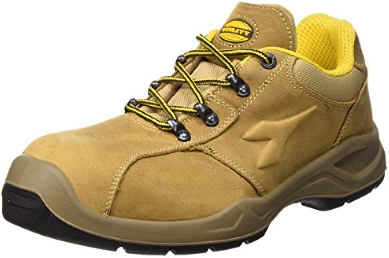 Diadora - Flow Ii Low S3, zapatos de trabajo Unisex adulto, Marrón (Noce), 41 EU