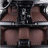 HIZH Fait sur Mesure Tapis D'Auto pour Volkswagen Passat B5 6 VW Sedan Polo Golf VW...