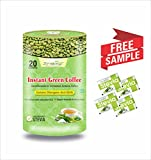 Zindagi Instant Green Coffee Powder - 100% Natural & Pure Coffee Beans Extract