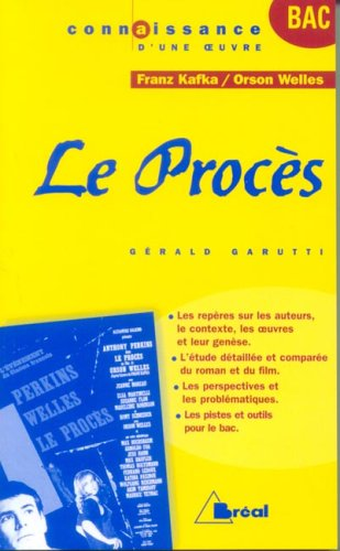 Le Procès : Franz Kafka - Orson Welles