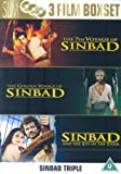 Sinbad And The Eye Of The Tiger/The 7th Voyage/The Golden Voyage [DVD]