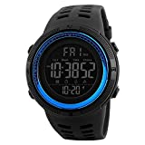 SKMEI Digital Black Dial Men's Watch-1251 Blue